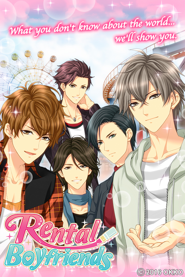 "Rental Boyfriends"" English Version, Now Available on Google Play and"